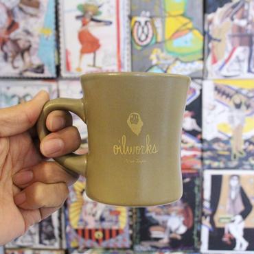 "[HASAMI x OILWORKS]""COFFEE"" MUG CUP [KHAKI]"