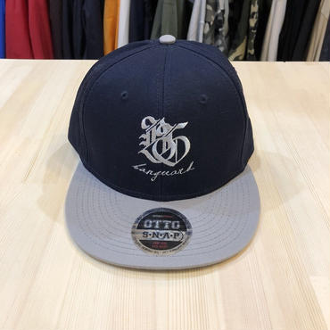 Banguard&Lefdeep snapback(NAVY/GRAY)