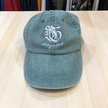 Lef deep×Banguard 6panel cap(green)