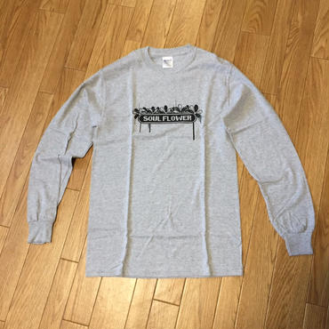 Soul Flower Logo Long Tee(Gray)