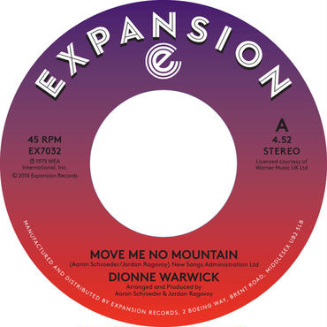Dionne Warwick Move Me No Mountain/(I'm)Just Being Myself