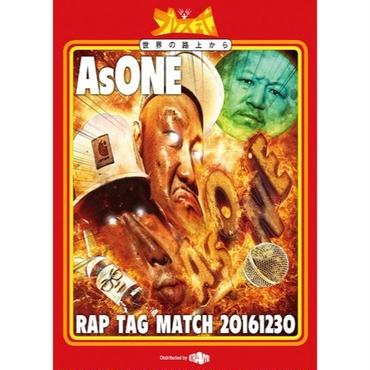 太華 & SharLee - AsONE -RAP TAG MATCH- 20161230 [DVD]