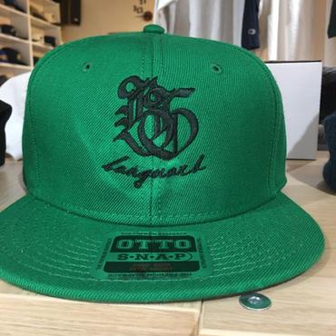 Banguard&Lefdeep snapback(GREEN/BLACK)