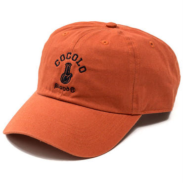 CLASSIC BONG 6PANELS CAP (DARK ORANGE)