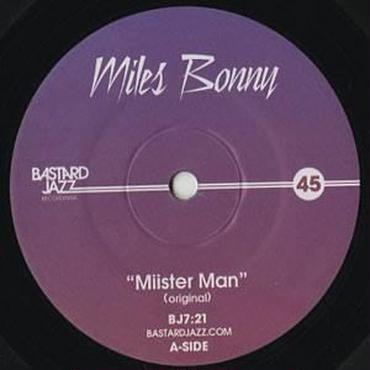 Miles Bonny/Miisterman 7inch