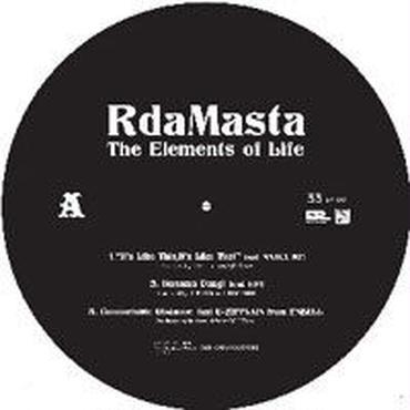 "R DA MASTA - THE ELEMENTS OF LIFE EP [12""]"