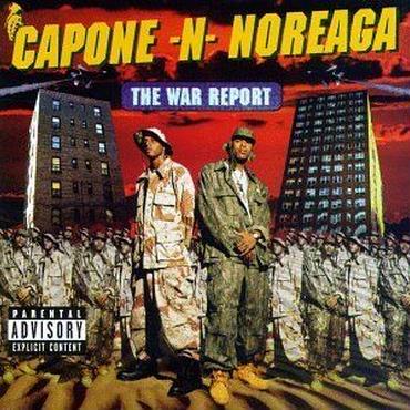 CAPONE 'N' NOREAGA WAR REPORT アナログ2LP
