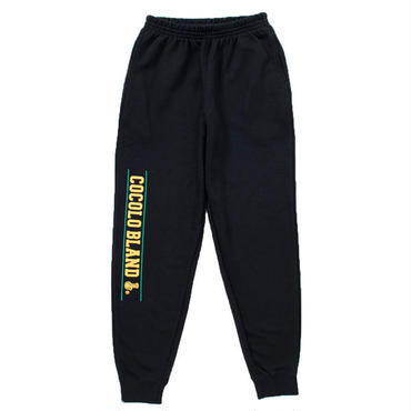 LINE LOGO SWEAT PANTS (BLACK)