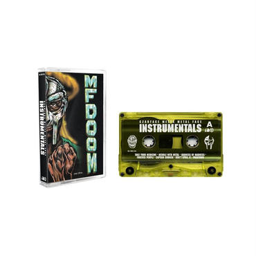 "MF DOOM & CZARFACE / CZARFACE MEETS METAL FACE (INSTRUMENTAL) ""CASSETTE TAPE"""