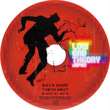 LOW END THEORY 2013 MUTA LIVE MIX!!!【CD】