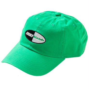 CAPSULE LOGO 6PANELS CAP (GREEN)