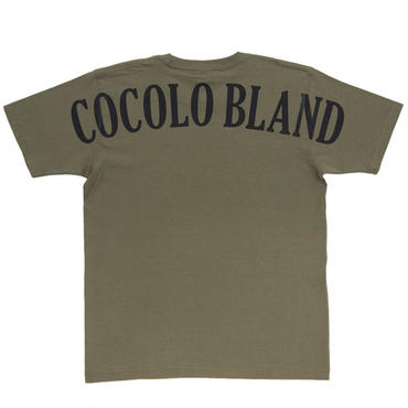 BACK LOGO HEAVY TEE (OLIVE)