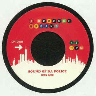 KRS ONE / SLY & THE FAMILY STONE SOUND OF DA POLICE / SING A SIMPLE SONG 7""