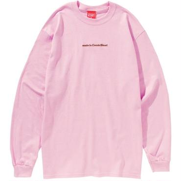 MADE IN COCOLO BLAND L/S TEE (PINK)