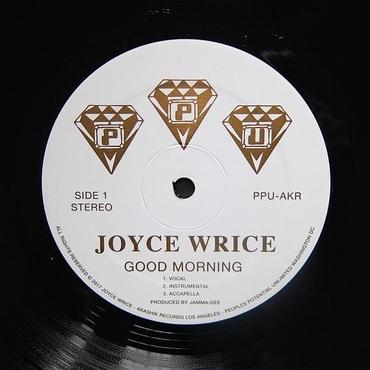 Joyce Wrice/Good Morning -Incl.Mandsgn Remix- LP