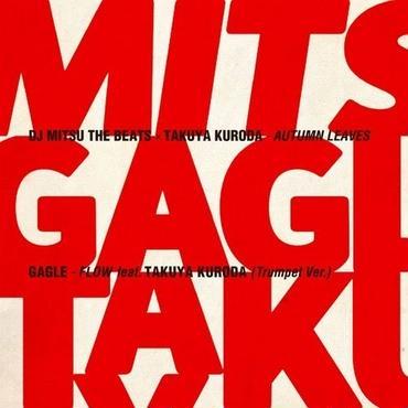 "DJ Mitsu the Beats x 黒田卓也 /GAGLE - Autumn Leaves / Flow feat. Takuya Kuroda [7""]"