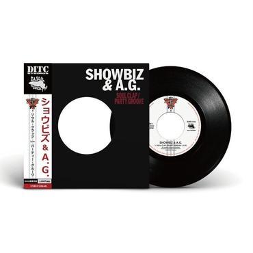 """SHOWBIZ & A.G. / SOUL CLAP b/w PARTY GROOVE """"7インチ"""""""