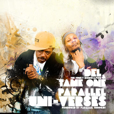 Del The Funky Homosapien & Tame One Parallel Uni-Verses -LP (LP Purple/White Smoke Colored Vinyl)