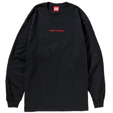 MADE IN COCOLO BLAND L/S TEE (BLACK)