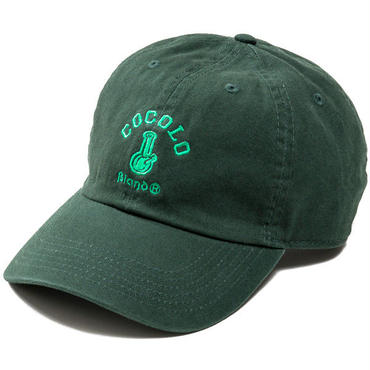 CLASSIC BONG 6PANELS CAP (DARK GREEN