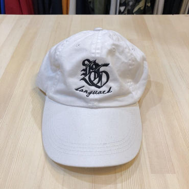 Lef deep×Banguard 6panel cap(white)
