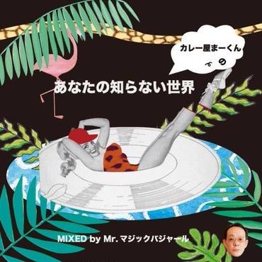 MR.MAGIC BAGYAR (DJ BAJA a.k.a.カレー屋まーくん) カレー屋まーくんの『あなたの知らない世界』
