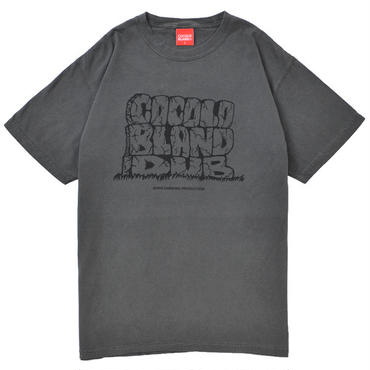 COCOLO BLAND DUB DYED TEE (PEPPER BLACK)