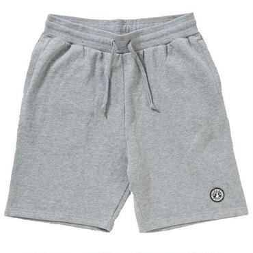 WAPPEN FLEECE SHORTS(GRAY)