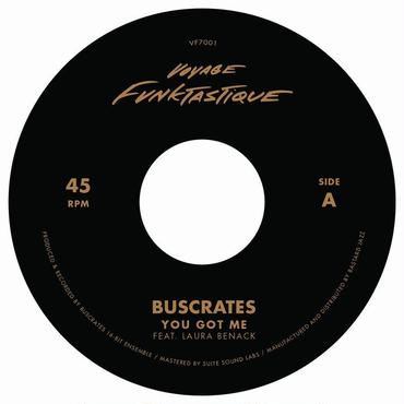 BUSCRATES / DR. MAD YOU GOT ME b/w MAYBE IT'S TIME 7""