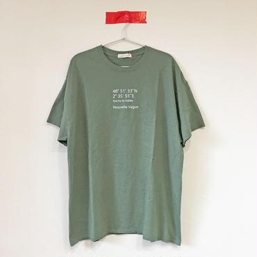 ヌーベルバーグWIDE Tee/MILITARY GREEN
