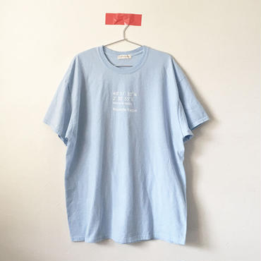 ヌーベルバーグWIDE Tee/LIGHT BLUE