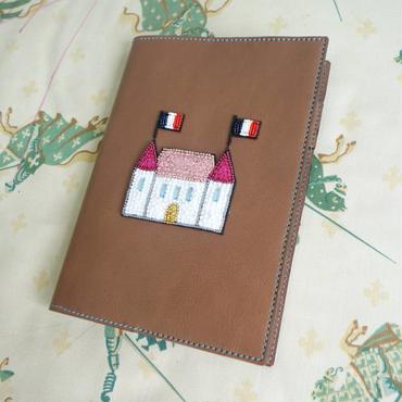 B6 手帳・ノートカバー le petit chateau