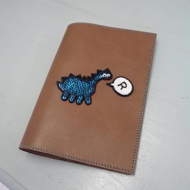 B6 手帳・ノートカバー 恐竜