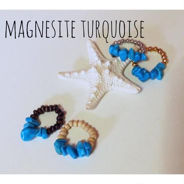 MAGNESITE TURQUOISE ring