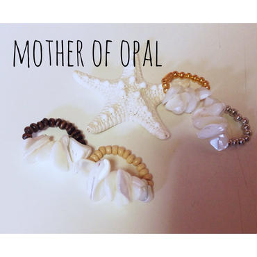 MOTHER OF OPAL ring
