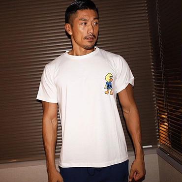 ダックTシャツ カラー:ホワイト 品番:0022