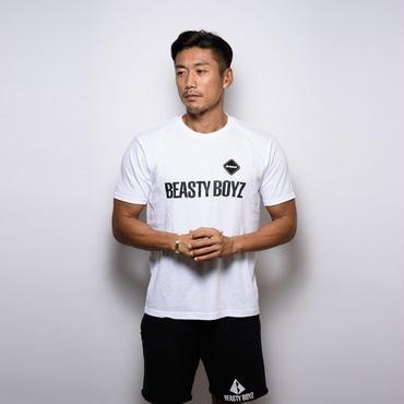 【完売しました / 再入荷はございません】F.C.R.B GYM×BEASTY BOYZ コラボ Tシャツ カラー:ホワイト 品番:1001