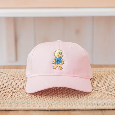 Duck刺繍CAP カラー:ピンク 品番:1014