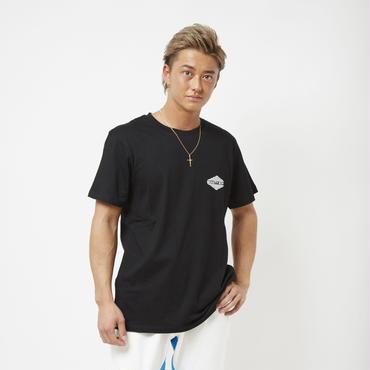 ロンバスロゴTシャツ      カラー:ブラック 品番:0006