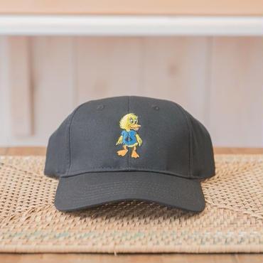 Duck刺繍CAP カラー:ブラック 品番:1014