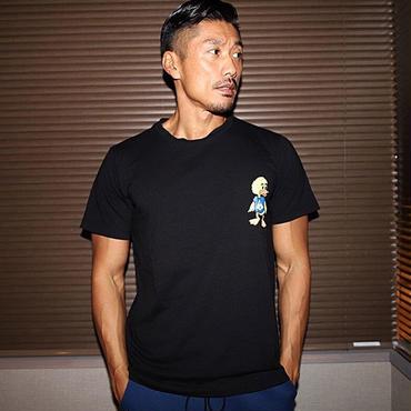 ダックTシャツ カラー:ブラック 品番:0022
