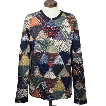 DENIM & SUPPLY(デニムアンドサプライ) ネイティブヘンリーネックシャツ