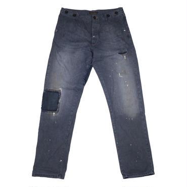 Nudie Jeans(ヌーディージーンズ) ダメージ加工チノパン