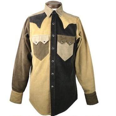 ROCKMOUNT(ロックマウント) コーデュロイクレージーパターンウエスタンシャツ