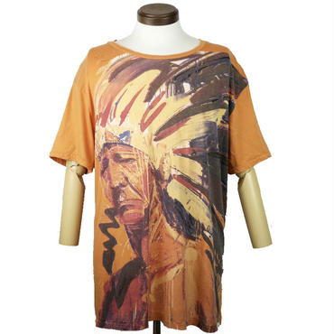 DENIM & SUPPLY(デニムアンドサプライ) インディアンプリントTシャツ