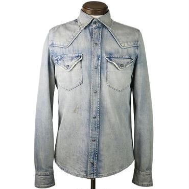 Nudie Jeans(ヌーディージーンズ) used加工デニムシャツ