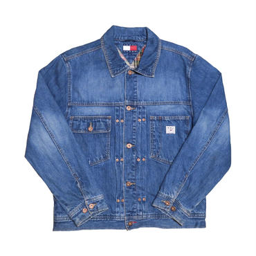 TOMMY JEANS(トミージーンズ) ユーズド加工Gジャン
