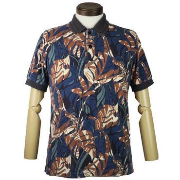 AMERICAN RAG CIE(アメリカンラグシー) リーフ柄ポロシャツ