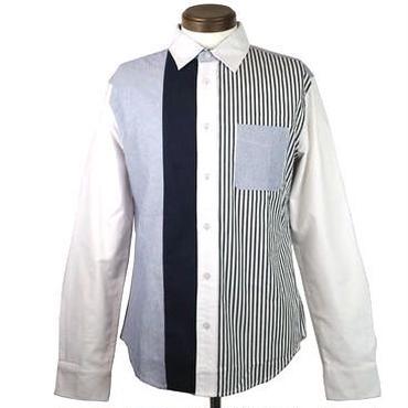 TRANS CONTINENTS(トランスコンチネンツ) クレージーパターンシャツ