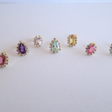 Sparkle earrings studs(シングル販売・セット販売)